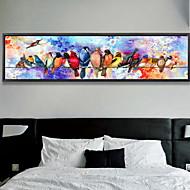 billige Innrammet kunst-Romantik Olje Maleri Veggkunst,Aluminium Legering Materiale med ramme For Hjem Dekor Rammekunst Soverom Innendørs