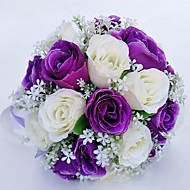 """cheap Wedding Flowers-Wedding Flowers Bouquets Wedding Special Occasion Polyester 11.02""""(Approx.28cm) 11.02""""(Approx.28cm)"""