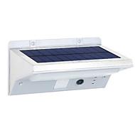 billige Utendørs Lampeskjermer-1pc 3.5W LED Solcellebelysning Infrarød sensor Vanntett Dekorativ Utendørsbelysning Kjølig hvit <5V