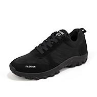 Masculino sapatos Couro Ecológico Primavera Outono Conforto Botas para Preto Azul Escuro