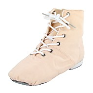 billige Jazz-sko-Tenåring Jazz Tekstil Støvler Flat Blå Rosa Kan spesialtilpasses