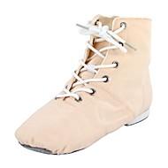 billige Jazz-sko-Dame Jazz Tekstil Støvler Flat hæl Blå Rosa Kan spesialtilpasses