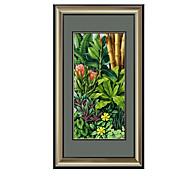 billige Innrammet kunst-Olje Maleri Veggkunst,Polystyrene Materiale med ramme For Hjem Dekor Rammekunst Spisestue
