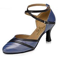 billige Moderne sko-Moderne Kunstlær Joggesko Trimmer Stiletthæl Hvit Blå Kan spesialtilpasses