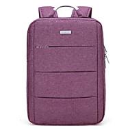 tanie Plecaki-Dla obu płci Torby Tkanina Oxford plecak Zamek Black / Purple / Light Gray