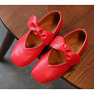 tanie Obuwie dziewczęce-Dla dziewczynek Obuwie Derma Wiosna i lato Wygoda / Buty dla druhenek Buty płaskie na brązowy / Czerwony / Różowy