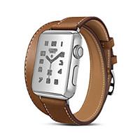 billiga Smart klocka Tillbehör-Klockarmband för Apple Watch Series 4/3/2/1 Apple Klassiskt spänne Läder Handledsrem