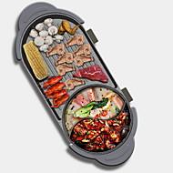 preiswerte Küchengeräte-Elektrischer Grillplatz Multifunktion Japanischer Edelstahl / Aluminium-Magnesium-Legierung Thermo-Kocher 220 V Küchengerät