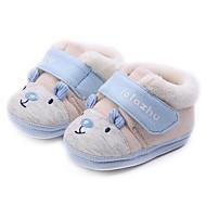 お買い得  ベビー用靴-女の子 靴 コットン 春 / 秋 コンフォートシューズ / 赤ちゃん用靴 ブーツ のために グレー / ピーチ / ライトブルー / ブーティー/アンクルブーツ