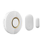 billige Dørklokkesystemer-trådløs dørklokke alarm sikkerhet 110-220v 52 ringetoner ir dørklokke&433mhz dørvindusensor)