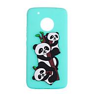 billiga Mobil cases & Skärmskydd-fodral Till Motorola G5 Plus C plus Mönster Skal Panda Mjukt TPU för Moto G5 Plus Moto G5 Moto E4 Plus Moto C plus