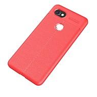 billiga Mobil cases & Skärmskydd-fodral Till Google Pixel 2 XL Pixel 2 Ultratunt Skal Ensfärgat Mjukt TPU för Pixel 2 XL Pixel 2