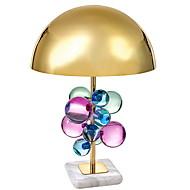 billige Skrivebordslamper-Krystall Kunstnerisk Krystall Bordlampe Skrivebordslampe Til Soverom Metall 220V A B