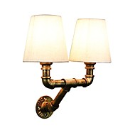 billige Vegglamper-Rustikk/ Hytte Til Entré butikker/cafeer Metall Vegglampe 110-120V 220-240V 3W