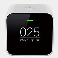 billiga Väckarklockor-xiaomi smart luftkvalitetsmätare pm2.5 detektor svart färg