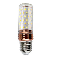 billige Kornpærer med LED-1pc 16W 1100 lm E27 LED-kornpærer 84 leds SMD 5730 Dekorativ LED Lys Varm hvit Kjølig hvit AC 220-240V
