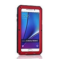 お買い得  携帯電話ケース-ケース 用途 Samsung Galaxy Note 8 Note 5 耐衝撃 フルボディーケース 鎧 ハード メタル のために Note 8 Note 5 Note 4 Note 3