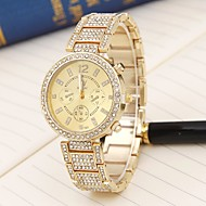 billige Quartz-Dame Quartz Sportsur Kinesisk Afslappet Ur Legering Bånd Luksus Afslappet Farverig Mode Sej Guld Rose Guld