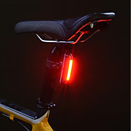 cheap -Rear Bike Light Cycling Water Resistant / Water Proof Lithium Lumens USB Powered