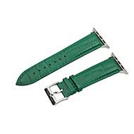 billiga Smart klocka Tillbehör-Klockarmband för Apple Klocka Serie 2 Apple Klocka Serie 1 Apple Klassiskt spänne Äkta Läder Handledsrem