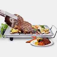 billiga Kök och matlagning-Elektrisk grill Multifunktion Aluminium-magnesiumlegering termiska Spisar 220V Köksmaskin