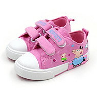 cheap Girls' Shoes-Girls' Shoes Canvas Spring Fall Comfort Sneakers for Casual Purple Pink Light Blue
