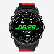 billige Smartklokker-YY-FS08 for Android 4.0 / iOS Pedometere / Compass / Meldingspåminnelse Pulse Tracker / Pedometer / Aktivitetsmonitor / Søvnmonitor
