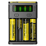 cheap Flashlights & Camping Lanterns-Nitecore NEW-I4 Battery Charger Flashlight Accessories Portable Professional High Quality Plastic for