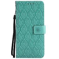 billiga Mobil cases & Skärmskydd-fodral Till LG K8 LG LG K10 LG K7 K10 (2017) G6 Korthållare Plånbok med stativ Läderplastik Fodral Ensfärgat Blomma Hårt PU läder för LG