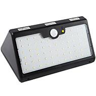 billige Utendørs Lampeskjermer-1pc 10W LED Solcellebelysning Infrarød sensor Vanntett Lysstyring Utendørsbelysning Kjølig hvit <5V