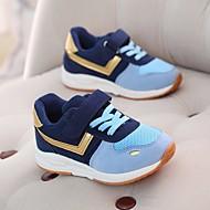 baratos Sapatos de Menino-Para Meninos / Para Meninas Sapatos Micofibra Sintética PU Primavera / Outono Conforto Tênis para Cinzento / Azul / Rosa claro