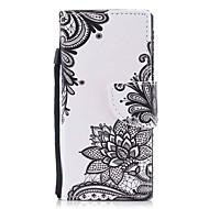 billiga Mobil cases & Skärmskydd-fodral Till Sony Sony Xperia XA Xperia XZ1 Compact Xperia XZ1 Korthållare Plånbok med stativ Lucka Magnet Mönster Fodral Blomma Hårt PU