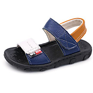 baratos Sapatos de Menino-Para Meninos Sapatos Pele Primavera / Outono Conforto / Primeiros Passos Sandálias para Branco / Preto / Azul