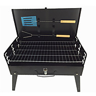 cheap Camp Kitchen-Camping Stove Grill & Griddle Pans Folding Lightweight Stainless Steel for Camping
