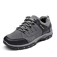baratos Sapatos Masculinos-Homens Couro Ecológico Primavera / Outono Conforto Tênis Aventura Preto / Cinzento / Verde Tropa