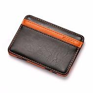 お買い得  コインケース&ホルダー-男性用 バッグ PU 小銭入れ ティアード のために カジュアル オレンジ / コーヒー / Brown