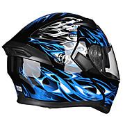 ais r1-805 capacete de interface de chifres de motocicleta metade do material de abs de personalidade de capa completa