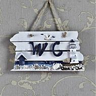 tanie Dekoracje ścienne-Dekoracja ścienna Drewniany Pasterski Wall Art, Znaki ścienne z 1