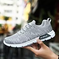 Χαμηλού Κόστους Παπούτσια για τρέξιμο-Ανδρικά Τούλι Άνοιξη / Φθινόπωρο Ανατομικό Αθλητικά Παπούτσια Τρέξιμο Μαύρο / Σκούρο μπλε / Ανοικτό Γκρίζο
