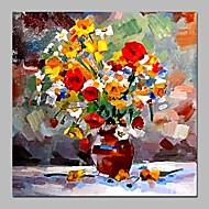 billiga Oljemålningar-Hang målad oljemålning HANDMÅLAD - Stilleben Vintage Duk