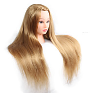18inch poučavanje manekenke glave s sintetičkim kose za vježbanje ženske glave manekenke trening lutke glave