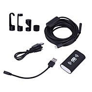 billiga Mobil cases & Skärmskydd-Mobiltelefonlins boroskop Endoskop Snake Tub Camera IP68 WIFI Hårt Bärbar dator Android Tablet Android telefon