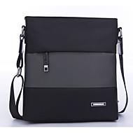 baratos Bolsas de Ombro-Homens Bolsas Tecido Oxford Bolsa de Ombro Ziper Azul Escuro / Preto Cinzento