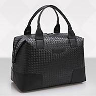 hesapli Bagaj & Seyahat Çantaları-PU Polyester Seyahat Çantası Günlük için Fermuar Tüm Mevsimler Siyah Koyu Mavi