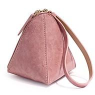 お買い得  小銭入れ-女性用 バッグ PU ポリエステル 小銭入れ ジッパー のために カジュアル オールシーズン ピンク パープル イエロー ダークグリーン Brown