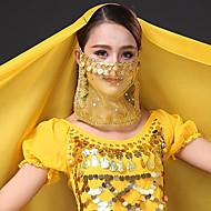 Trbušni ples Običan Žene Trening Til Šljokice Veil