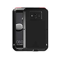 billiga Mobil cases & Skärmskydd-fodral Till Huawei Mate 10 Fri Från Vatten / Smuts / Stöt Fodral Ensfärgat Hårt Metall för Mate 10