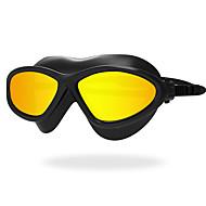 billiga Swim Goggles-Simglasögon Anti-Dimma Anti - Slit Anti-UV Reptåligt Stöttålig Anti-halk band Vattentät Plätering Kiselgel PC Gul Vit Röd Svart Annat