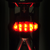 billige Sykkellykter og reflekser-Baklys til sykkel LED LED Sykling Justerbar Vanntett Fort Frigjøring Enkel å bære AA 15lm Lumens AA batterier drevet Rød Sykling