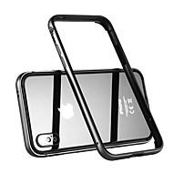 billiga Mobil cases & Skärmskydd-Benks fodral Till Apple iPhone X Stötsäker Stötsäkert fodral Ensfärgat Hårt Metall för iPhone X